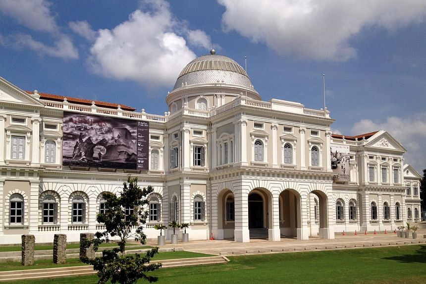 The National Museum of Singapore.