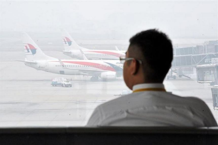 Several flights in Malaysia were disrupted on Monday as the visibility level in the country's northern region fell to its lowest this year because of the haze.