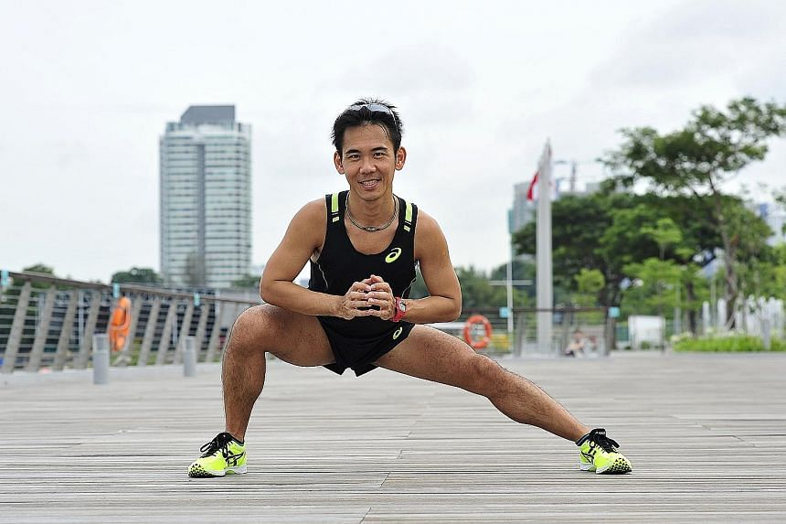 Mr Andy Neo, 36, drinks chocolate milk immediately after a workout as it has a good mixture of protein and carbohydrates to repair damaged tissues and refuel glucose levels.