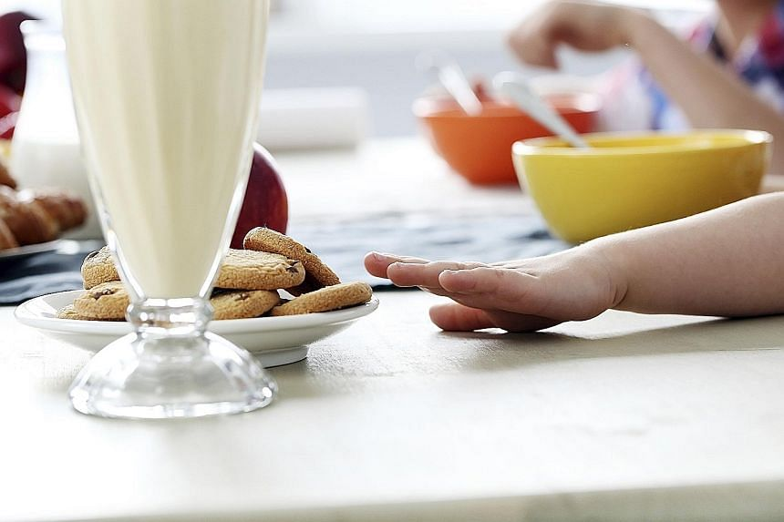 """When ordering food from the main menu for children, pick dishes featuring fresh, wholesome ingredients, or what nutrition experts call a """"Healthy Plate"""". According to senior dietitian Lynette Goh, this consists of half a plate of fruit and vegetables"""