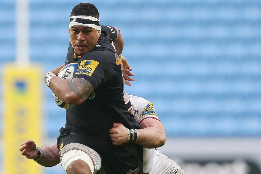 Nathan Hughes could have played for Samoa in the World Cup but is serving a three-year residency to be eligible to compete for England.