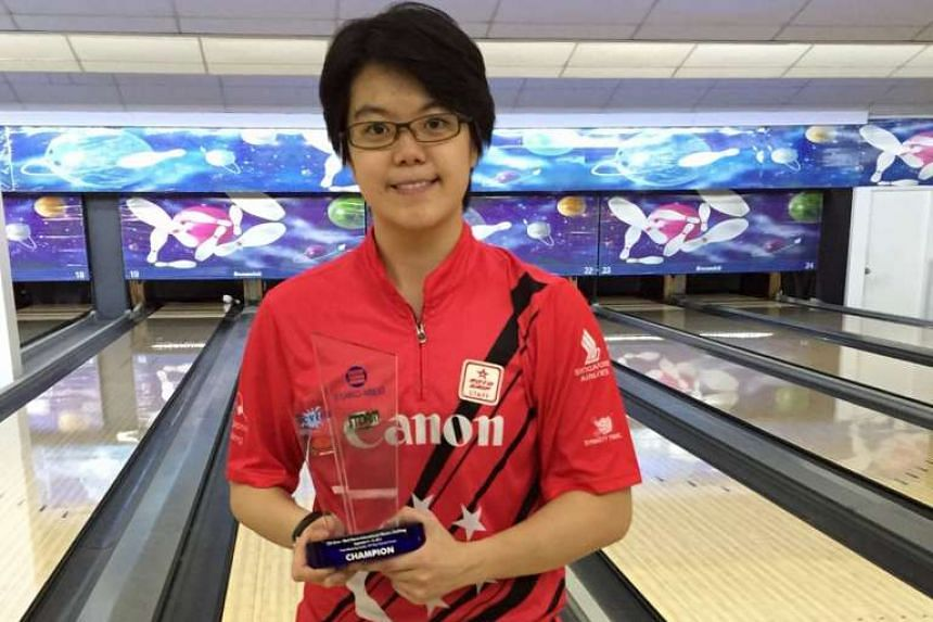 Singapore bowler Cherie Tan won the Euro-Med Storm International Masters Challenge in Manila on Tuesday, Sept 15, 2015.