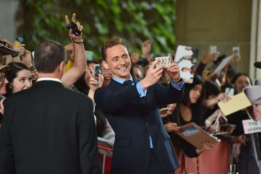 Actor Tom Hiddleston sings all the songs in Hank Williams' biopic, I Saw The Light.