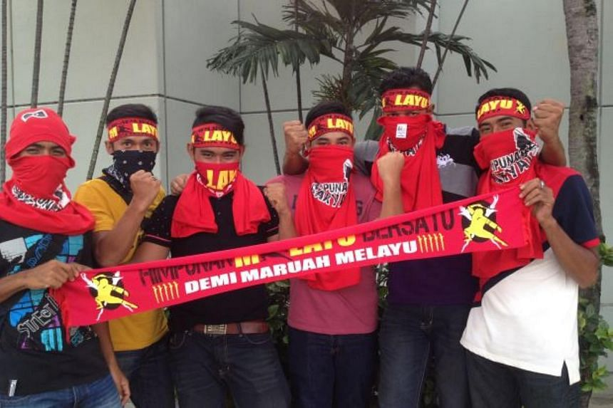 """""""Red shirt"""" protesters have started gathering at various locations in the city centre on Wednesday (Sept 16), ahead of a rally scheduled in the afternoon."""