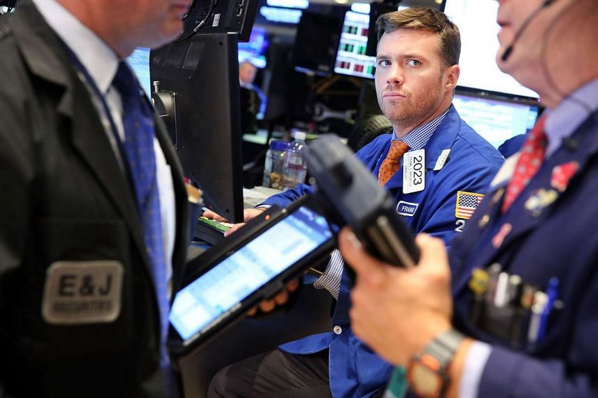 Traders work on the floor of the New York Stock Exchange on Sept 15, 2015 in New York City.