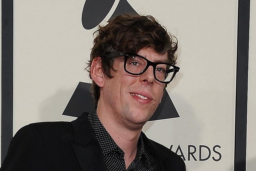 Patrick Carney (above) of The Black Keys says singer Jack White tried to fight with him.