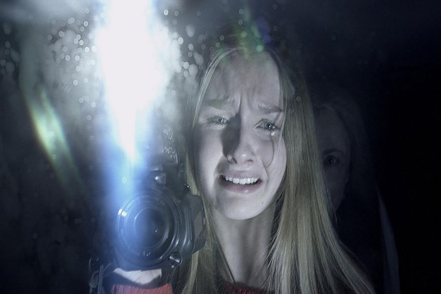In The Visit, Olivia DeJonge (above) plays Becca, who with her brother, is sent to live with her grandparents.