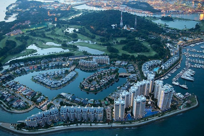 New company Global Alliance Property has it sights set on plush Districts 9, 10 and 11 and Sentosa Cove (above).