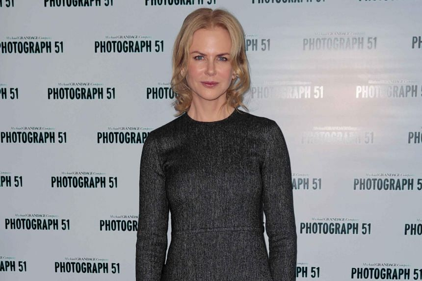 Nicole Kidman plays scientist Rosalind Franklin in the play Photograph 51.