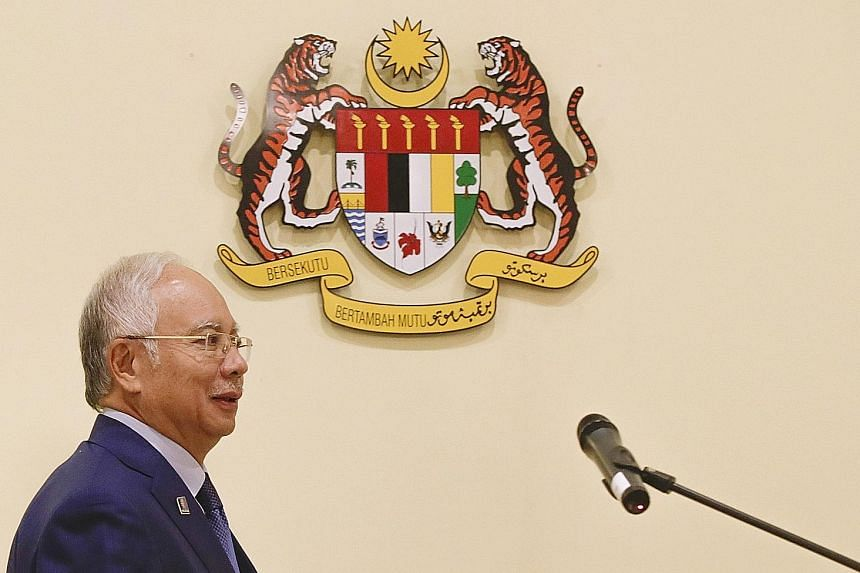 Malaysian Prime Minister Najib Razak announced a package of stimulus measures on Monday, including a RM20 billion (S$6.5 billion) injection into the stock market through state equity investment unit ValueCap. Economists say the measures are aimed at