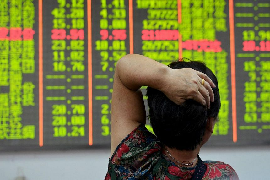 Asian stocks advanced with European equity-index futures, but bonds tracked a selloff in US Treasuries amid the countdown to the Federal Reserve's policy decision.
