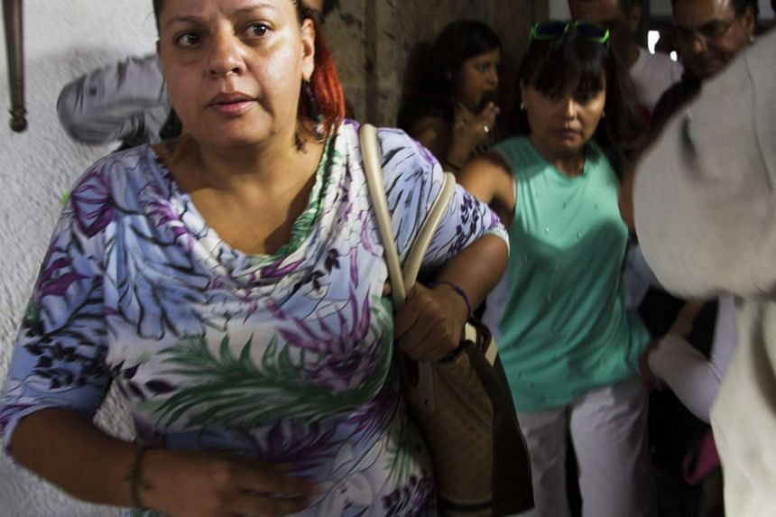 Relatives of Mexican tourists attacked in Egypt leave for the airport in Guadalajara, Mexico on Sept 14, 2015.