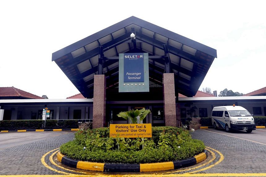 The haze over Singapore has disrupted flights at Seletar Airport.