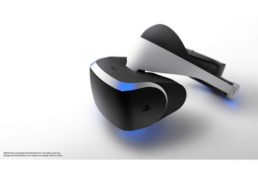 Sony's upcoming virtual reality headset for the Playstation 4, the Playstation VR.