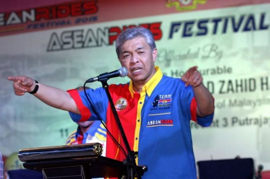 Those taking part in the rally on Wednesday (Sept 17) have been warned by Malaysian DPM Datuk Seri Dr Ahmad Zahid Hamidi to stay away from racial sensitivities or face action.