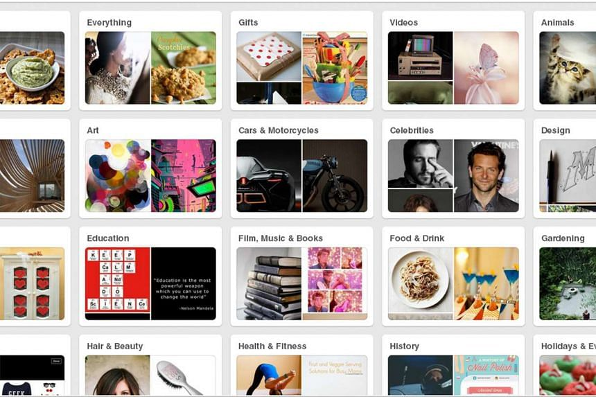 """More than 100 million users are on Pinterest, the online bulletin board-style service which allows people to """"pin"""" images based on their interests, the California company said Wednesday."""