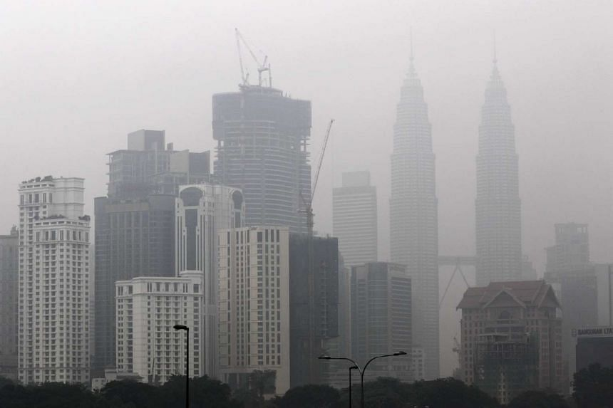 Schools in Selangor, Kuala Lumpur (above), Putrajaya, Negeri Sembilan and Malacca, which were told to close on Tuesday, reopened on Thursday.