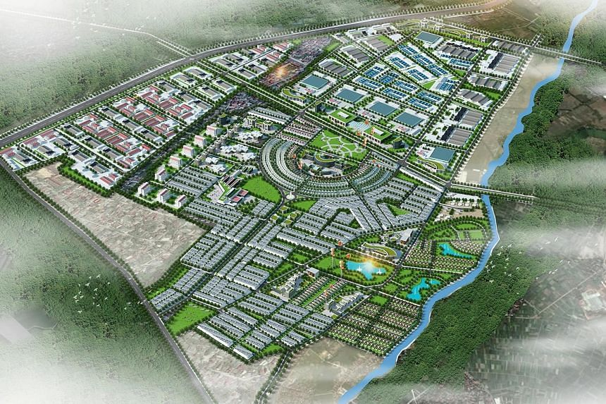 The project, in Nghe An province, about 400km from Hanoi, is being developed by a joint venture made up of Vietnam's Becamex IDC Corporation and a Singapore consortium, in which Sembcorp has a 92.9 per cent stake.