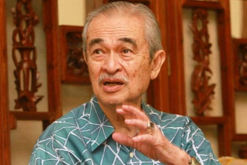 """Former Malaysian PM Abdullah Badawi said the """"red shirt"""" rally was in response to the earlier Bersih rally, and not about upholding Malay dignity."""