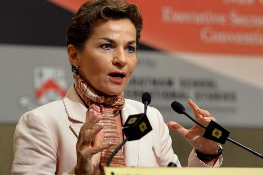 United Nations climate chief Christiana Figueres.