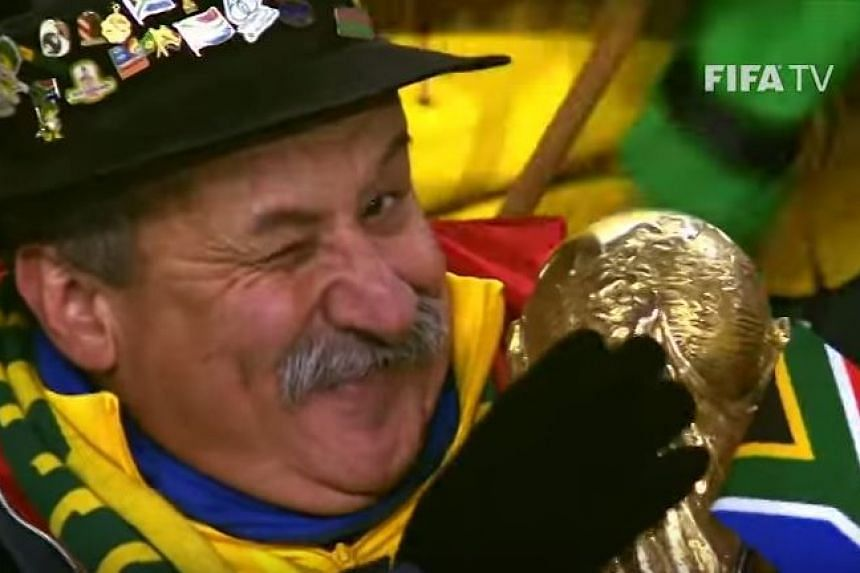 """Brazil super fan Clovis Acosta Fernandes, who became known as the """"saddest man in Brazil"""" after the Selecao's 7-1 loss to Germany in the 2014 World Cup, died aged 60."""