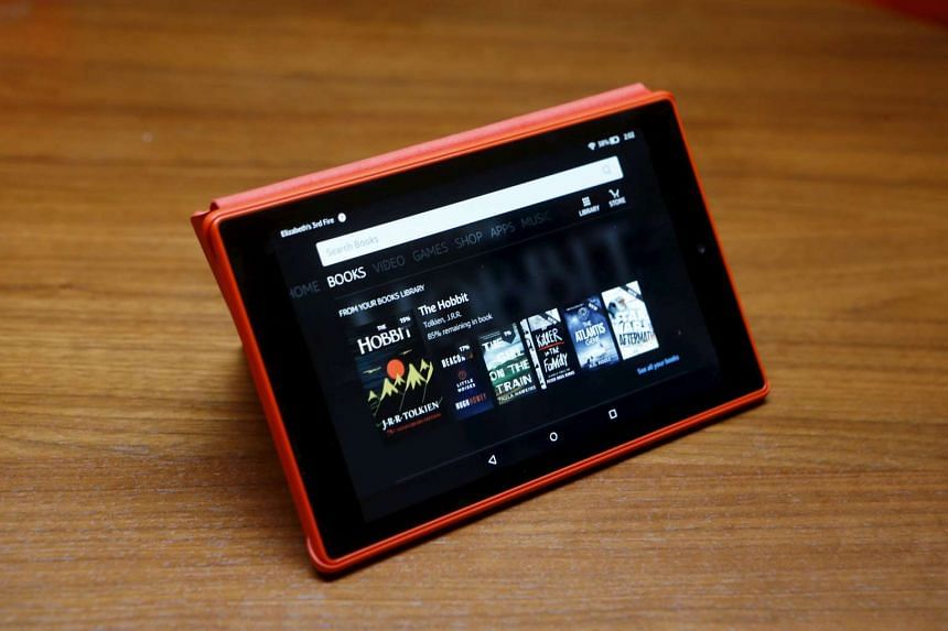 The new Amazon Fire HD 8 tablet.