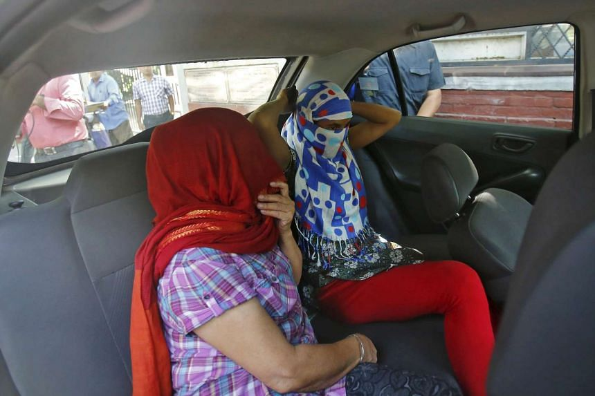 The two Nepali women who told police they were raped by a Saudi official.