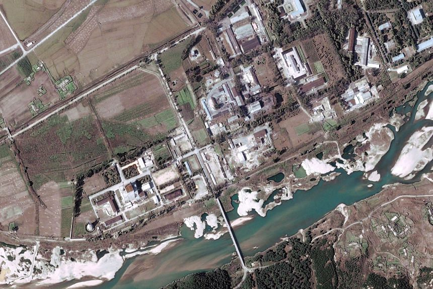 A satellite image of the Yongbyon nuclear complex. North Korea claimed on Tuesday that all of Yongbyon's facilities have started normal operations.