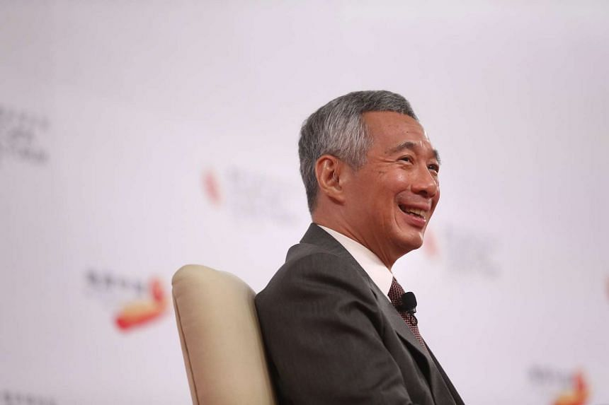 Prime Minister Lee Hsien Loong participating in a dialogue session in this July 21, 2015 file photo.