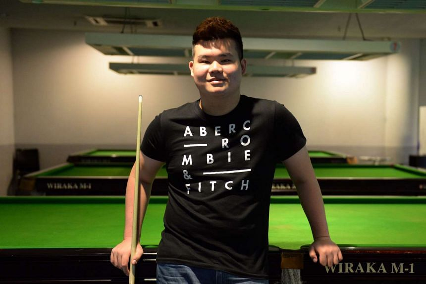 National pool player Aloysius Yapp was eliminated in the quarter-finals of the World Nine-ball Championship in Doha, Qatar.