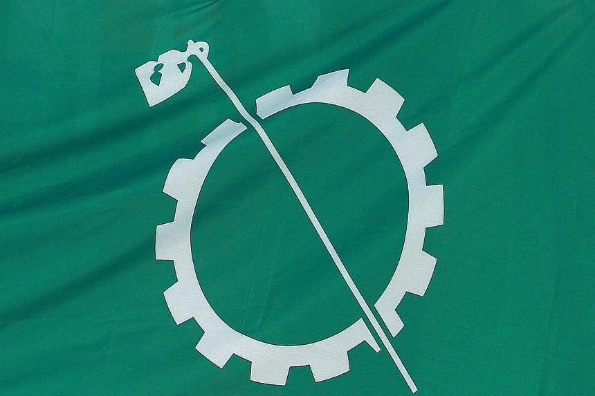 Amanah's party logo, said to be similar to Barisan Sosialis, a local political coalition in the 60s. Amanah's secretary-general said it might have been a coincidence.