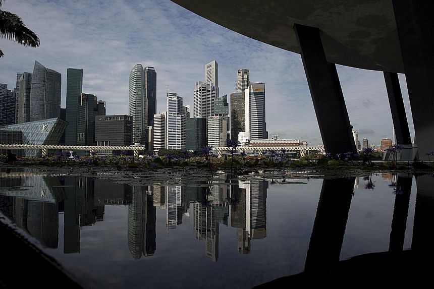A KPMG report shows that Singapore businesses are less willing to ink merger and acquisition deals despite having more funds than their average global counterparts. But KPMG Singapore's head of M&A, Mr Benjamin Ong, believes that deal-making will pic