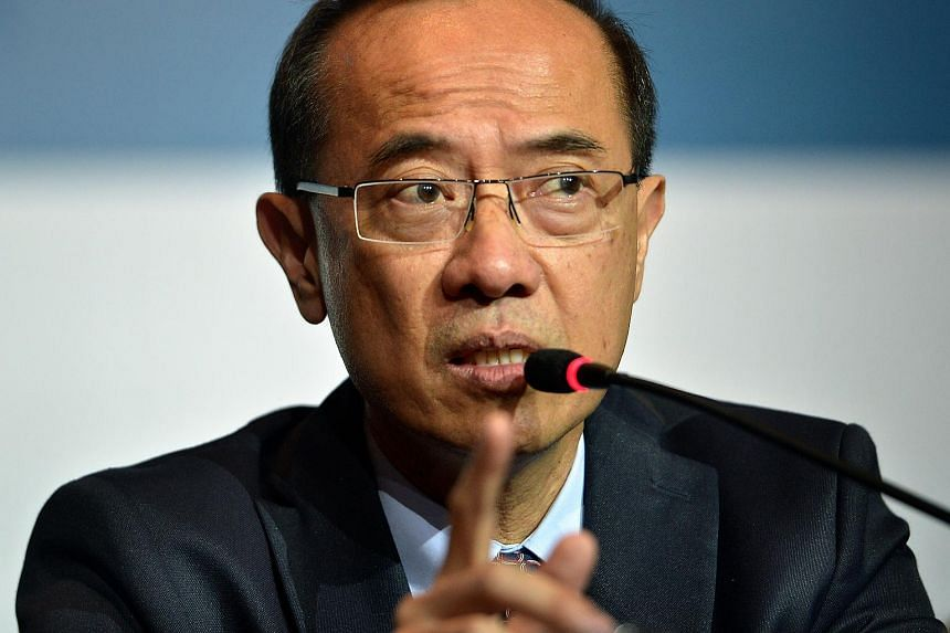 Mr George Yeo at a forum at the Grand Copthorne Waterfront Hotel in this June 3, 2015 file photo.