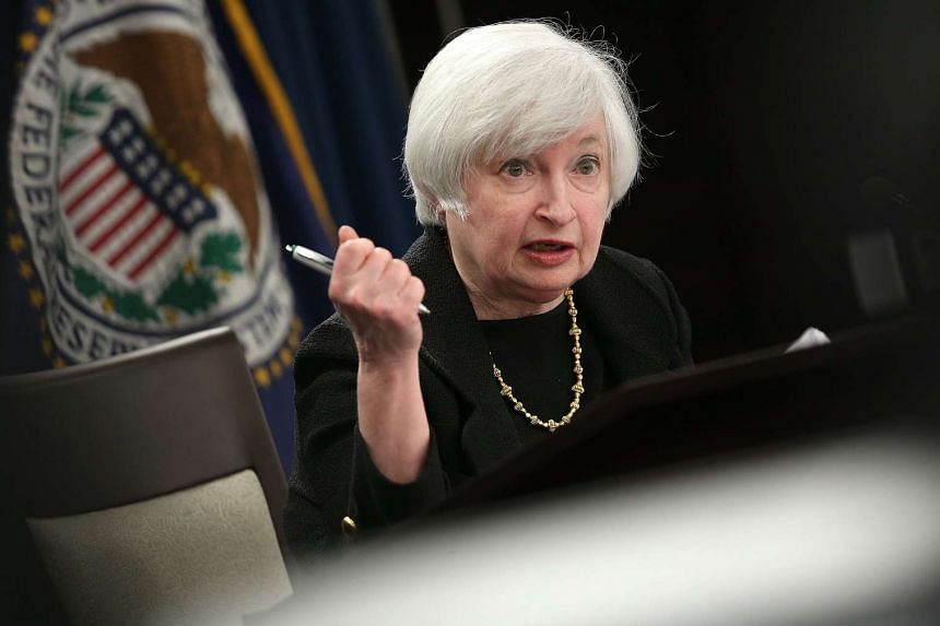 Federal Reserve Board Chairwoman Janet Yellen answers questions at a news conference following a Federal Open Market Committee meeting on Sept 17, 2015, in Washington, DC.