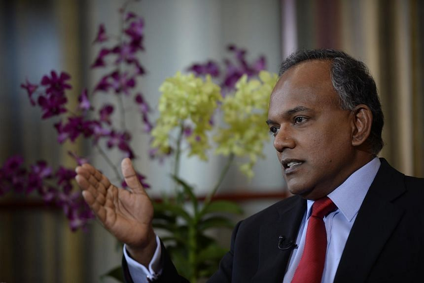 The transboundary haze has attracted international attention, Mr Shanmugam said, and others are looking at how countries in this region were dealing with the issue.