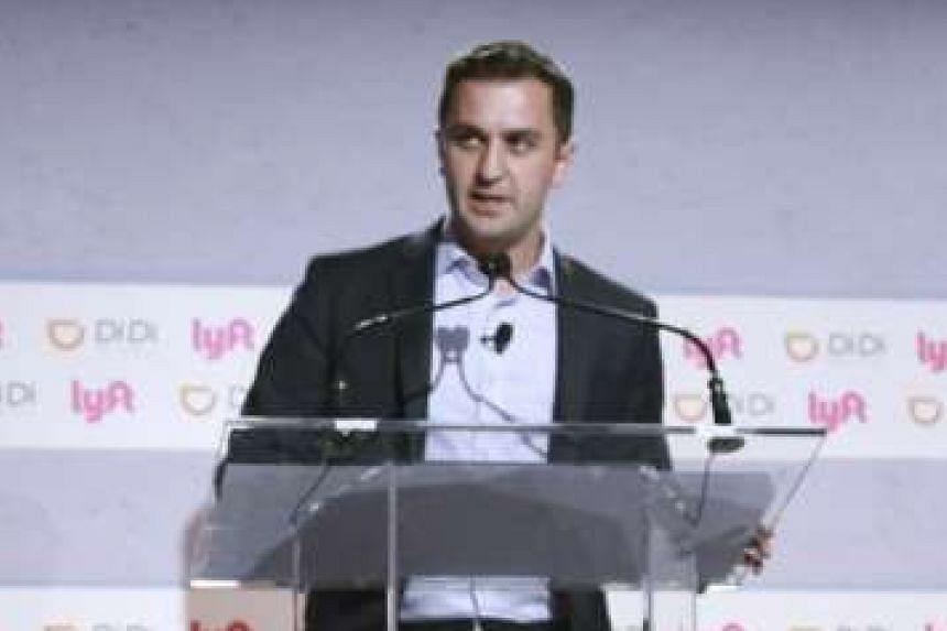 Lyft co-founder and president John Zimmer.