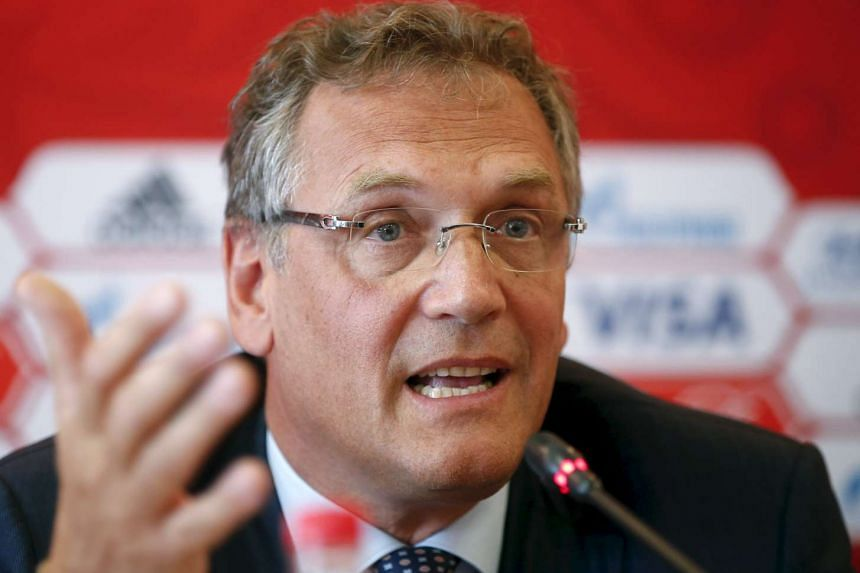 Valcke is under investigation over misconduct allegations.