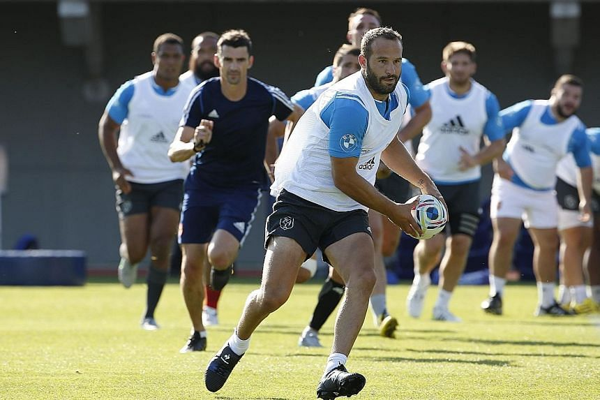 France have been boosted by a pair of successive victories in warm-up matches against England and Scotland. But the team (above) will not appease fans if they do not beat Italy convincingly.