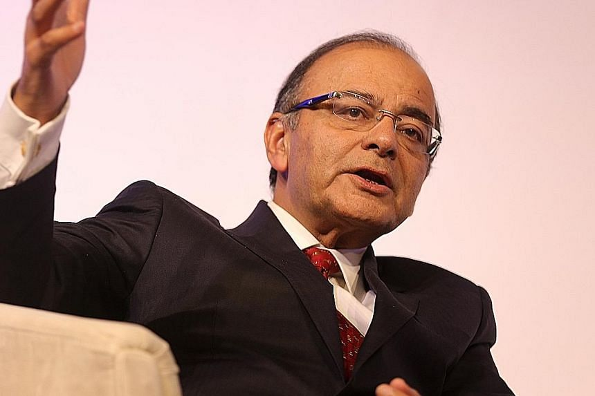 India is not a significant part of the Chinese production chain, said Indian Finance Minister Arun Jaitley at a Singapore Summit event yesterday.