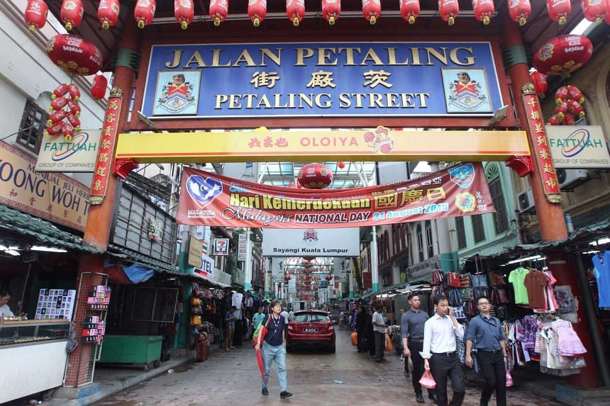The red shirts rally on Wednesday saw protesters breaking through barricades and clashing with police, but life in Petaling Street has resumed its usual hustle and bustle now.