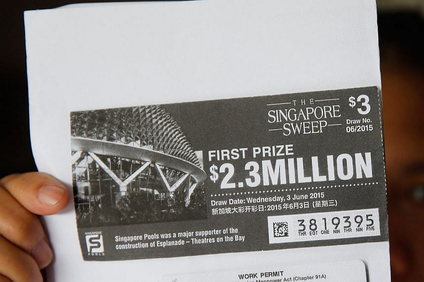 Len (not her real name), won $2.3 million in the Singapore Sweep in June. She has been cleared of allegations that she had stolen the winning ticket.