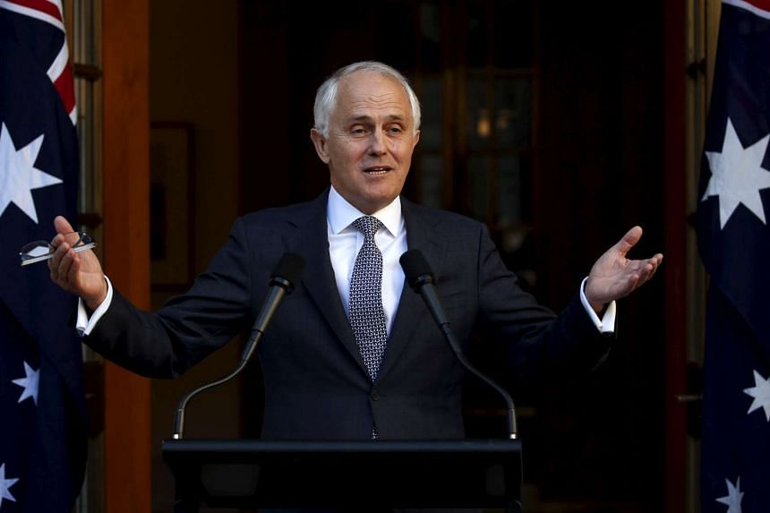 Australian Prime Minister Malcolm Turnbull announcing his new federal Cabinet during a media conference at Parliament House in Canberra, Australia, on Sept 20, 2015. Australia got its fifth prime minister in as many years on Monday after the ruling L
