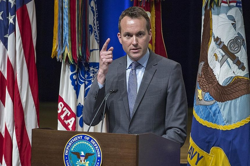 Mr Eric Fanning is currently acting army undersecretary.