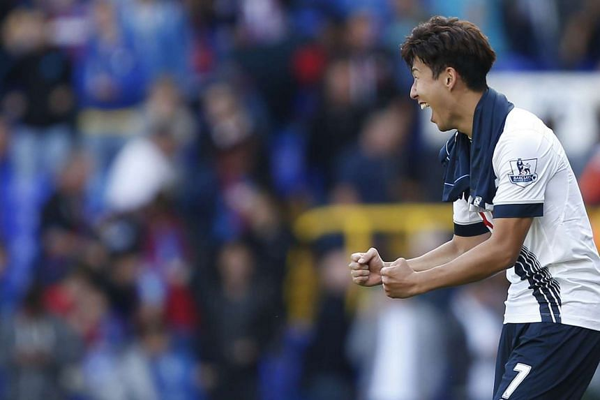 Son Heung Min was Tottenham Hotspur's hero once again as the South Korean's first Premier League goal clinched a 1-0 win over Crystal Palace on Sunday.