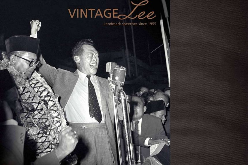 Vintage Lee, published by Straits Times Press and edited by Lydia Lim, is available now at all major bookstores and www.stpressbooks.com.sg for $28 (before GST).