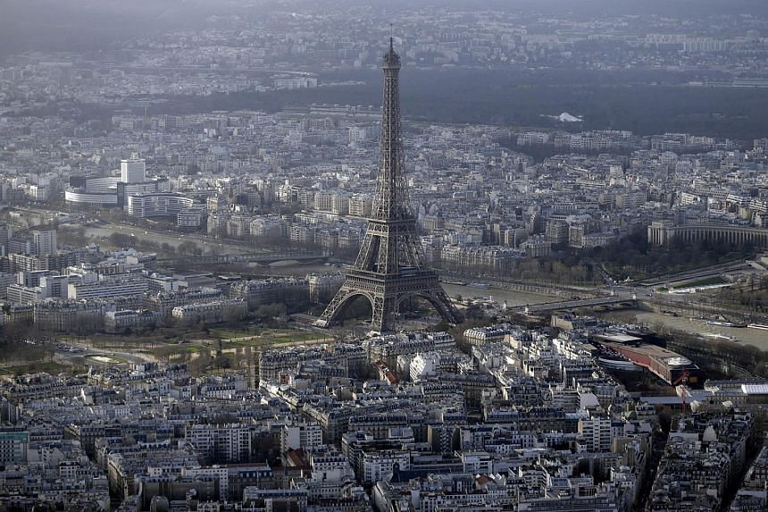 The Eiffel Tower in Paris was closed to the public in the morning on Sept 20, 2015 following an intrusion by a person with a backpack.