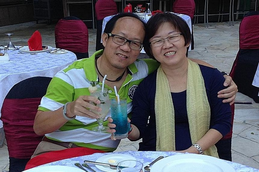 Forum contributor Leong Kok Seng and his wife Choon Eng. Mr Leong hopes Singapore will continue to progress as a nation and provide equal opportunities for all.