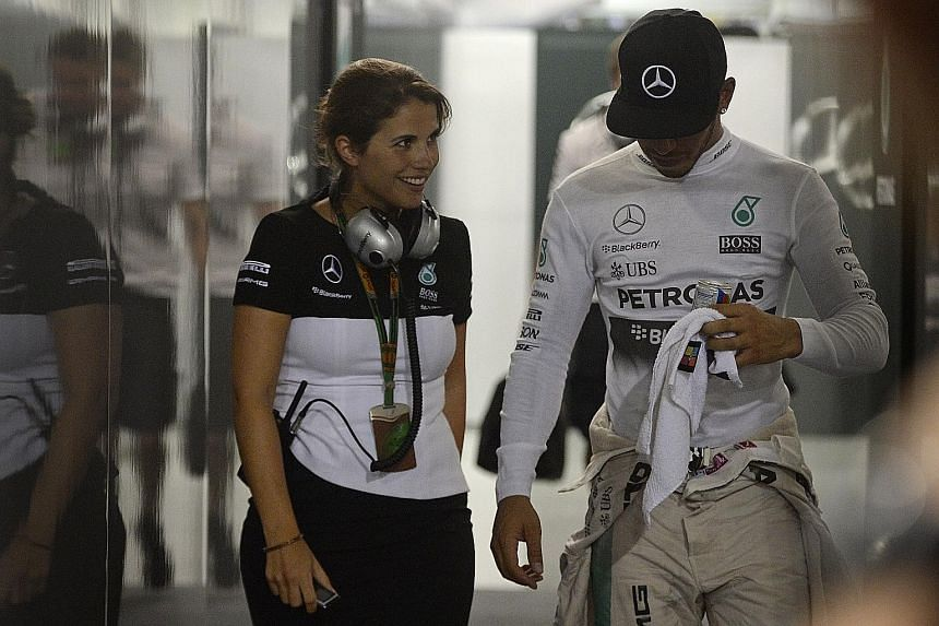 Reigning world champion Lewis Hamilton last night, after his first mid-race retirement since last year's Belgian Grand Prix.