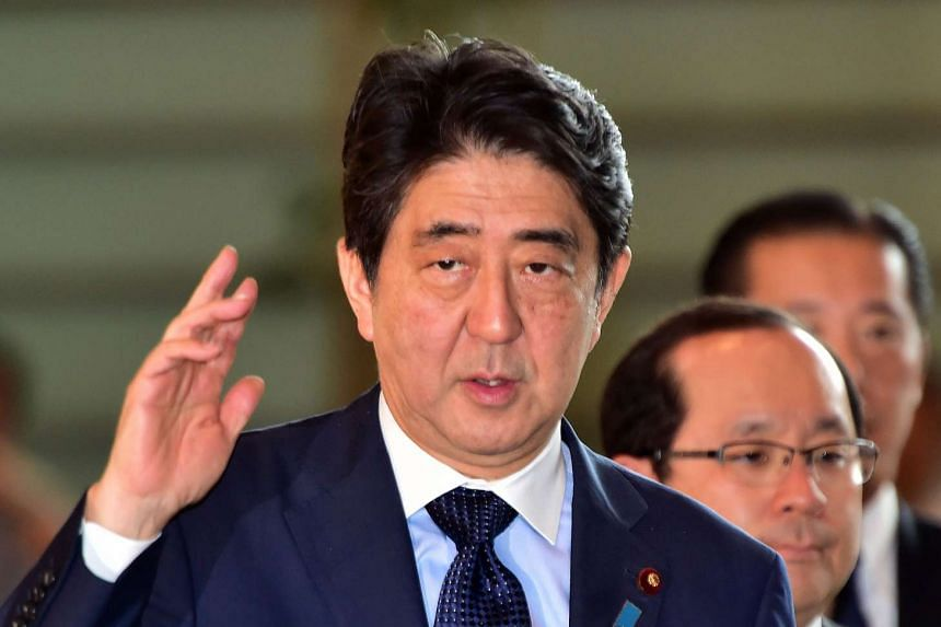 A weekend poll taken by the top-selling, centre-right newspaper Yomiuri Shimbun showed that public support for the Abe government dropped four points to 41 per cent compared with a similar survey taken in mid-August.