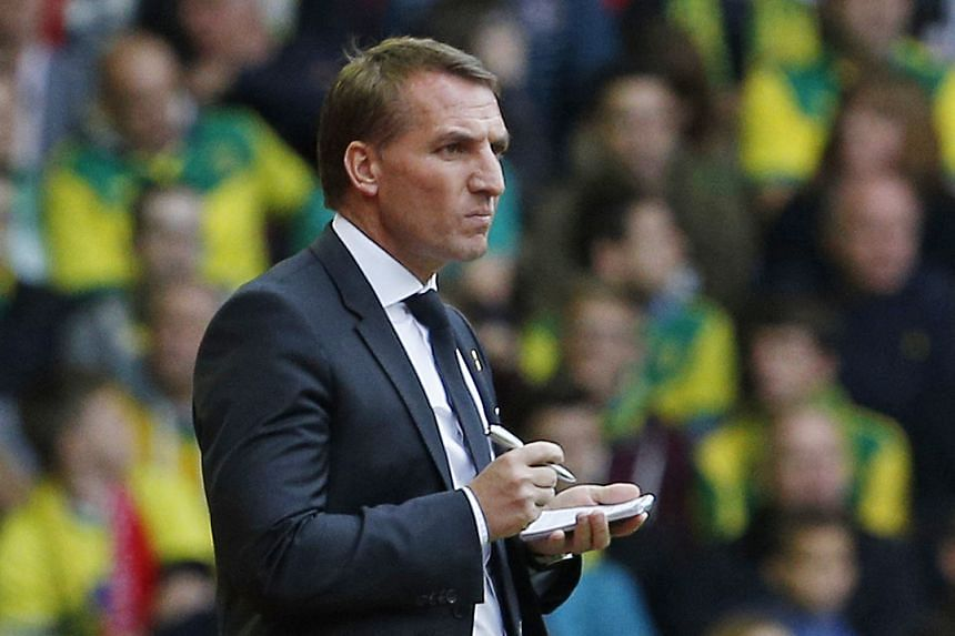 """""""Hard work pays and it's just going to be a matter of time until they can get the results to be rewarded by that. I think (confidence) will grow with results,"""" Rodgers told the club's website."""